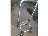 Bugaboo frog frame with front wheels