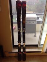 Men's Rossignol experience 74  ski and binding set (166 cm)