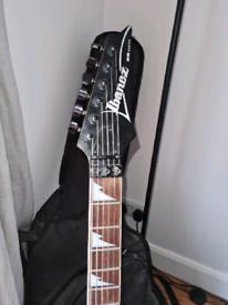 Ibanez RG370DX electric guitar, Marshall practice amp starter kit