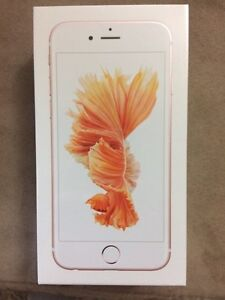 iPhone 6s 64gig sealed in box