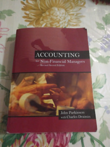 Accounting for non financial managers 50$ OBO