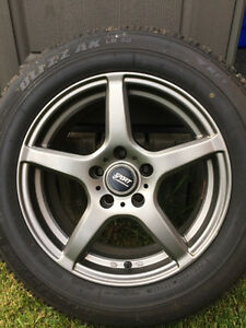 F25 BMW x3 winter tires and rims