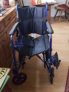 Porter wheel chair