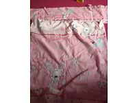 Baby cot bumper and duvet set