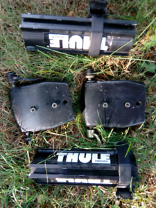 Complete Thule Roof Rack Kit - bicycles and skis