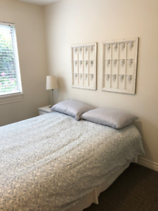 Furnished two bedroom, two bathroom condo for rent in Abbotsford