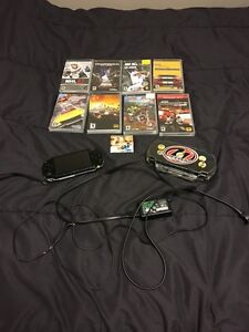Sony PSP (AMAZING CONDITION) and multiple games