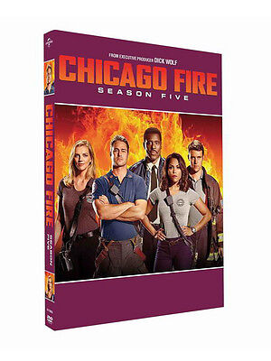 2017 NEW ~Chicago Fire Season 5     5DVD  Free shipping