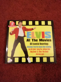 Elvis Presley. Elvis at the movies. 3 CD set.