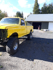 1989 ford f150 unfinished project