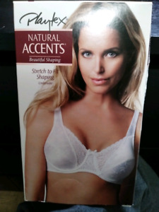 Playtex Natural Accents 38/C Underwire Bra - Style 2422