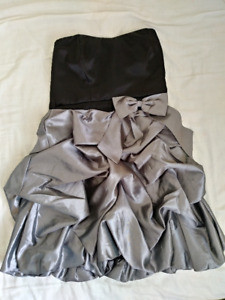 Strapless Semi-Formal Dress (Le Chateau)