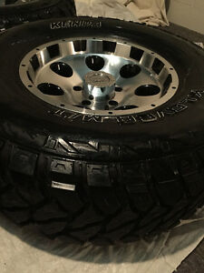 *4 TRUCK TIRES WITH RIMS* great condition