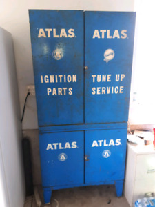 1950s parts cabinets