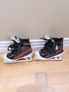Bauer goalie skates 1D