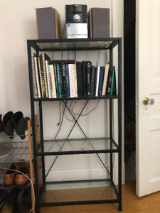 Glass Bookshelf