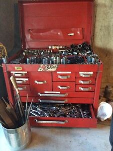 Tools and chest