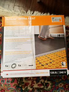 Schluter Fitra-heat floor heating cable