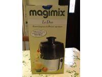 Magimix le duo juicer & citrus press