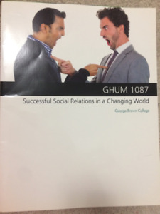 Succesful Social Relations in a Changing World. GHUM 1087 (GBC)