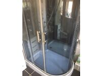 1200x900 all in one shower unit