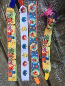 Sesame Street soother clips