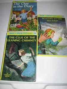 Nancy Drew Hardcover 3 books # 7, 26, 29. Excellent $13 Firm.