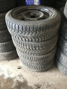 185/65R15 UNIROYAL TIGER PAW SET OF 4 used tires 90%tread left