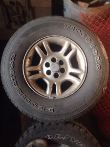Four Small Truck Firestone Destination Tires