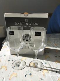Dartington Crystal - 2 Wine Glasses (pair)