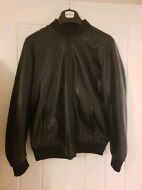 LADIES FULLY LINED LEATHER JACKET BY MILAN LEATHERWEAR BRAND NEW WITH TAGS