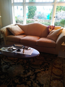 Gold couch