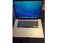 "MacBook Pro late 2013, 15"" Retina display, i7"