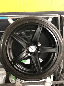 4 MERCEDES AMG 19 RIMS AND TOYO PROXES T1R TIRES 255/40/19