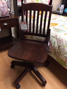 Clearance Solid Wood Desk Chairs