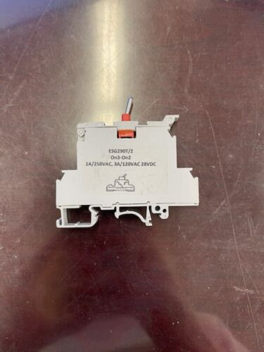 Electrotech ESg290T/2 Terminal BLOCK Toggle Switch (Tote 136)