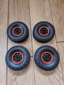 New Traxxas UDR Wheels And Tyres. BFGoodrich. Rc Car