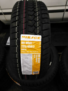 Winter tires new Mirage 225/45R17 installed