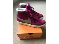 Nike blazer mid suede trainers - brand new