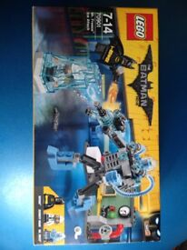 Lego Batman Mr Freeze Ice Attack New
