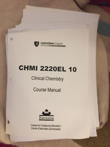 Clinical Chemistry Course Manual