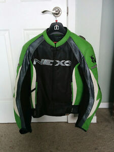 Nexo two piece leather racing suit.  $250