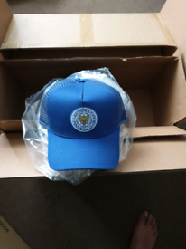 BRAND NEW LEICESTER CITY LCFC SNAP Blue CAP HAT BRAND NEW FOXES