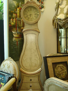 Brand New Grandfather Style Clock with Shelving