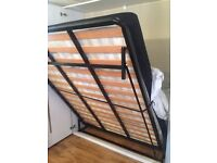 King size vertical folding wall bed frame bargain £250