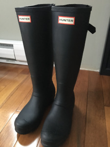 Original Black Hunter Rain Boots