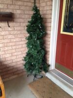 Free artificial Christmas tree with lights