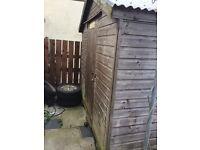 Garden shed 12x7