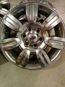 set of 4 x 18 inch factory Ford Mags