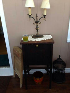 1920's Antique Jewelry Box/ Night Stand (RARE and Gorgeous!)